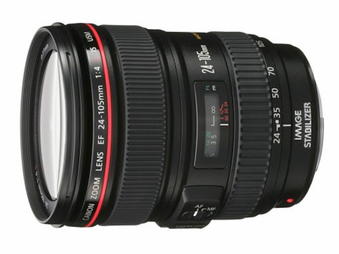 Canon patent for EF 24-105mm f/4 zoom lens