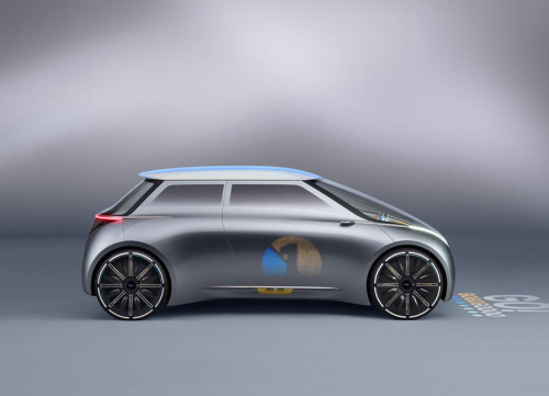 The Mini Vision Next 100 Concept : A Mini for the People, Again