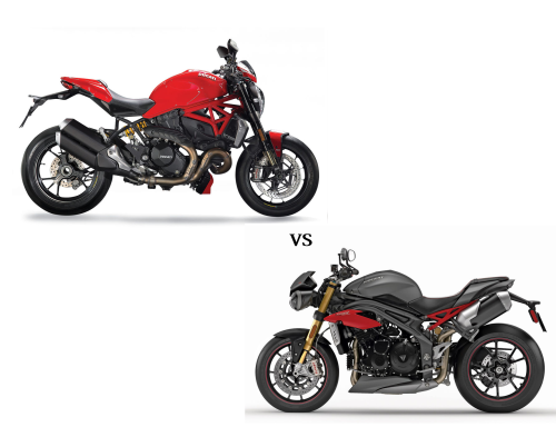 Ducati Monster 1200 R vs. Triumph Speed Triple R – COMPARISON TEST
