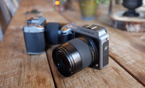 Hasselblad X1D vs Sony A7r II vs Canon 5DS vs Pentax 645D : Size Comparison