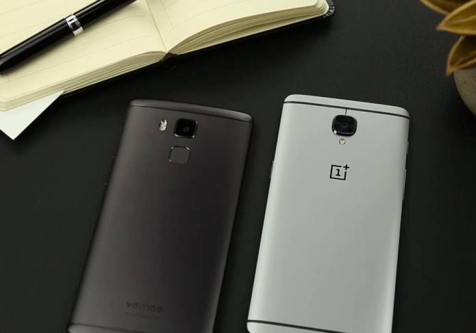 Vernee Apollo Lite vs. OnePlus 3 in design comparison video