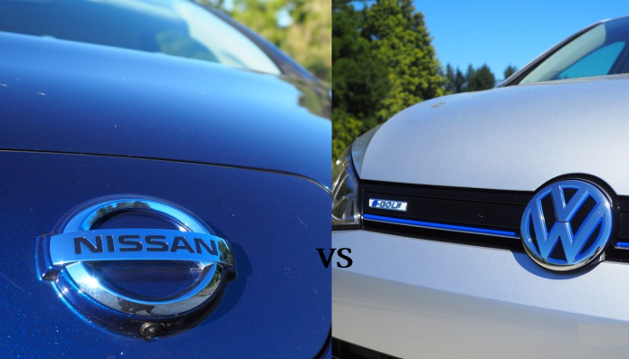 2016 Nissan Leaf vs 2016 Volkswagen e-Golf : Range-Anxiety