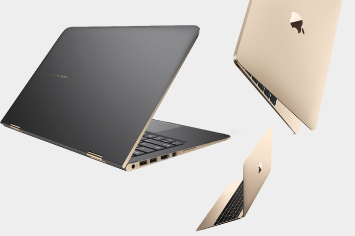 Apple MacBook vs HP Spectre : Superthin Laptop Showdown
