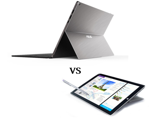 Asus Transformer 3 Pro vs Microsoft Surface Pro 4 : What's the difference?