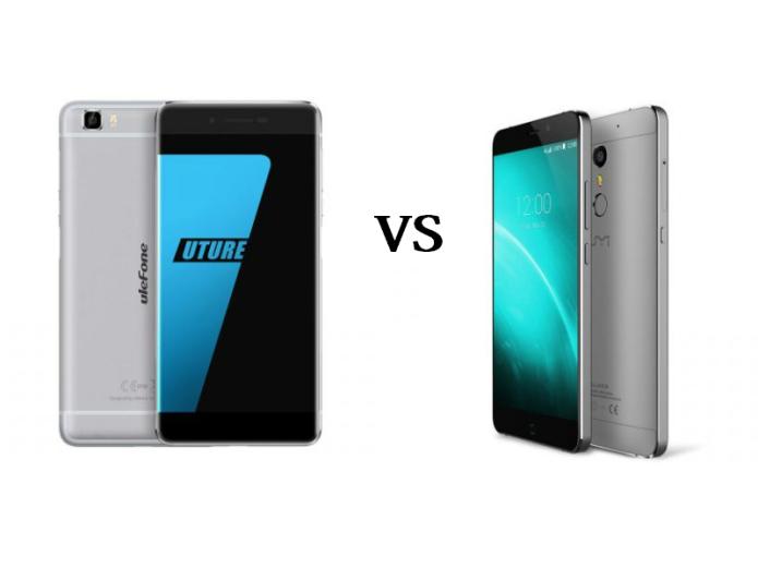Ulefone Future vs. UMI Super in a big comparison video