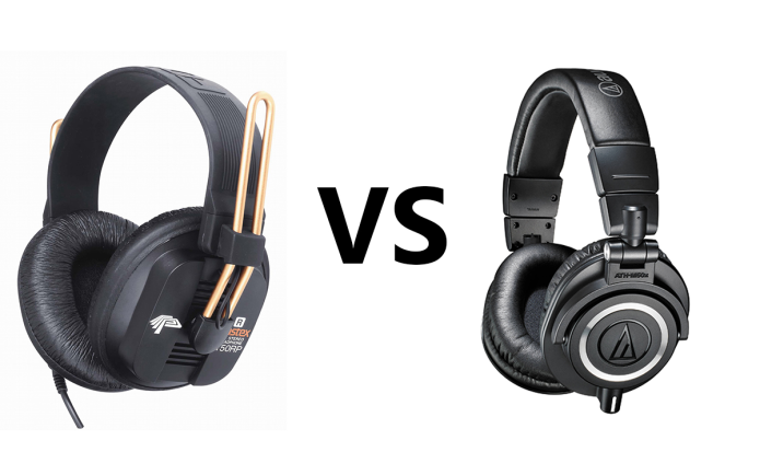 Fostex T50RP vs Audio Technica M50X Comparison Review
