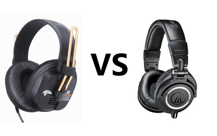 Fostex T50RP vs Audio Technica M50X Comparison Review
