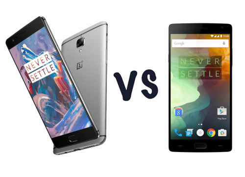 OnePlus 3 vs OnePlus 2 : What's the difference?