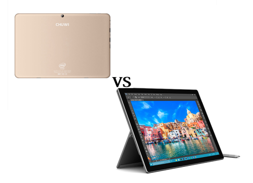 Chuwi Hi12 Vs Microsoft Surface Pro4 Clash Of Titans