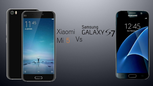 Xiaomi Mi 5 vs. Samsung Galaxy S7 – Clash of the titans
