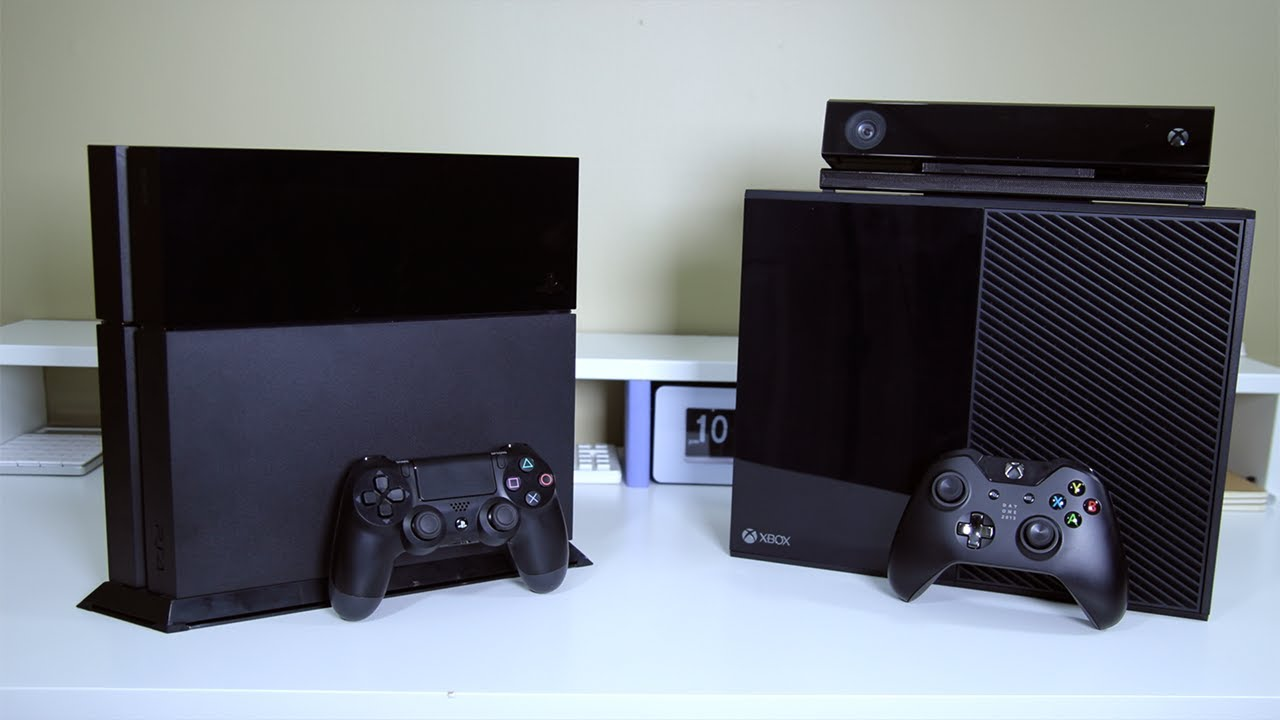 Xbox One Vs Ps4 : Ps vs xbox one new versions of both consoles on the way