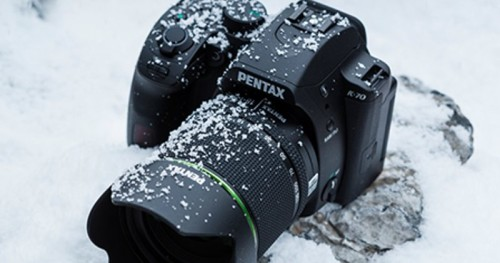 PENTAX K-70 DSLR can weather the elements better than you