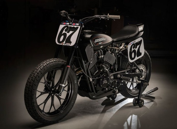 EXCLUSIVE FIRST LOOK : Harley-Davidson's New XG750R Flat-Track Racer