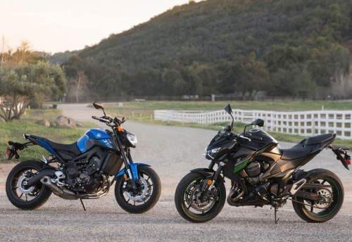 Kawasaki Z800 vs. Yamaha FZ-09 – COMPARISON TEST