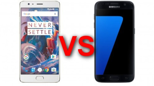 OnePlus 3 vs Galaxy S7: Which is best?