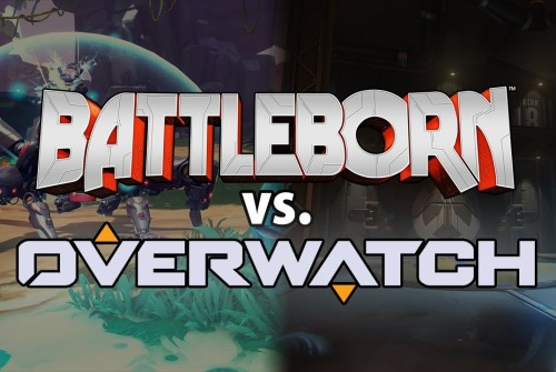 Battleborn vs. Overwatch : Shooters of a Different Color