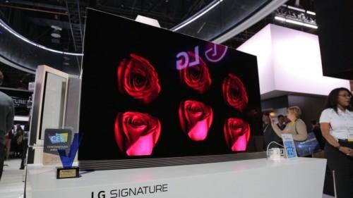 LG Signature OLED65G6P OLED Ultra HDTV