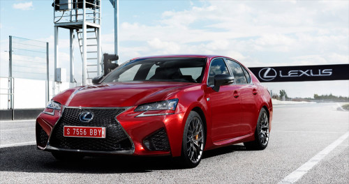 2016 Lexus GS F in Super-Sedan Showdown with BMW, Audi, and Cadillac