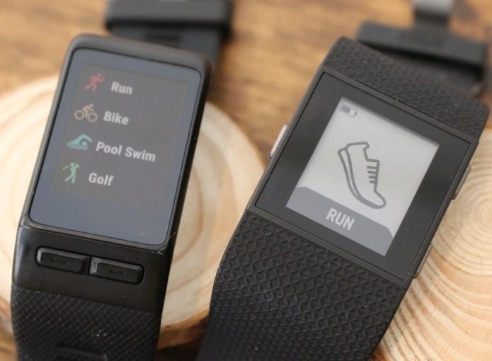 Fitbit Surge v Garmin Vivoactive HR : Battle of the fitness watches