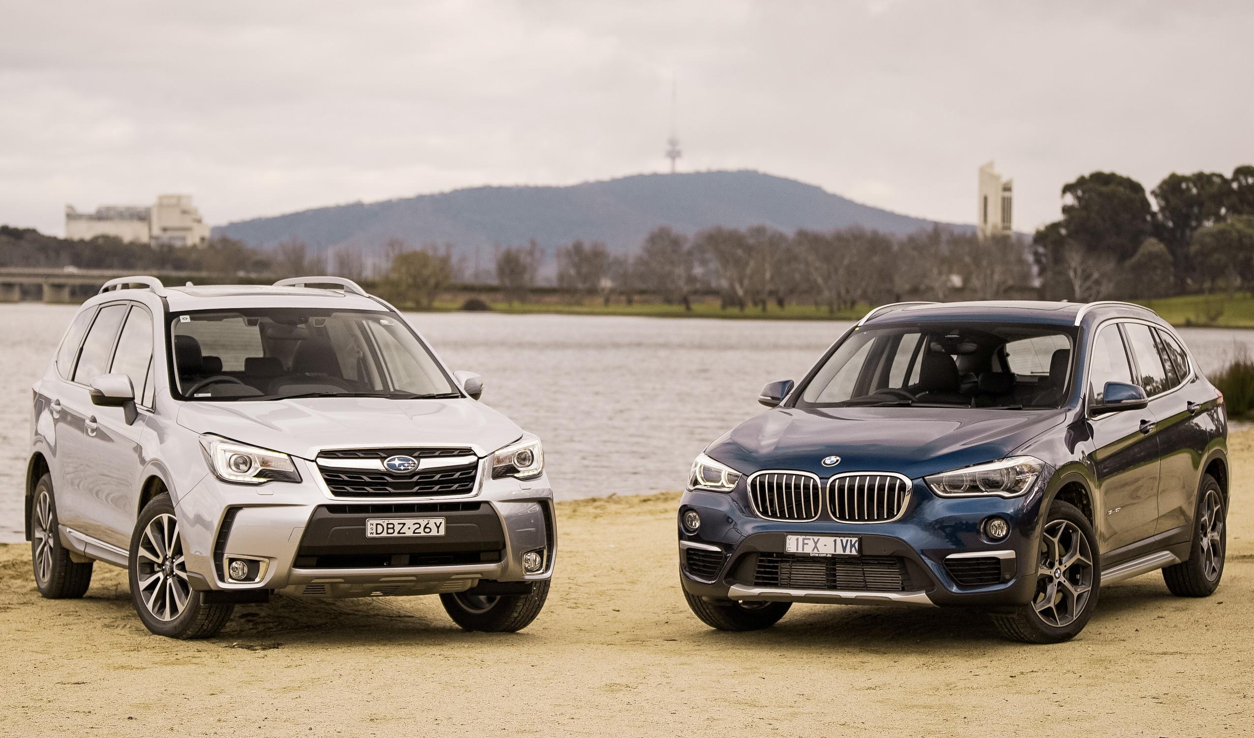 Subaru Forester Xt Premium V Bmw X1 Sdrive 20i Comparison