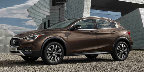 2017 Infiniti QX30 First-Drive: Crossover style, German cred