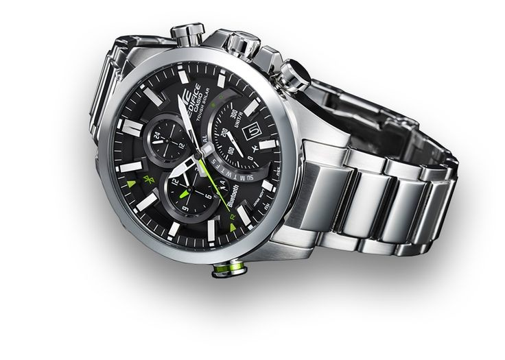 Casio Edifice Eqb 500 Watch First Connected Device Second Gearopen