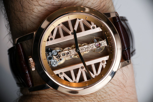 Corum Golden Bridge Round Watch Hands-On