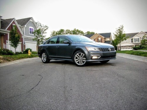 2016 Volkswagen Passat V6 SEL Premium Review: The Good German