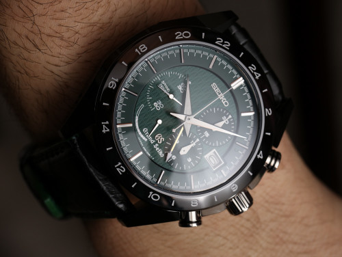Grand Seiko Black Ceramic Limited Edition Chronograph SBGC017 Watch Hands-On