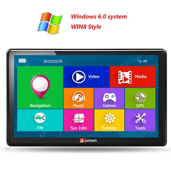 Junsun-7-inch-HD-Car-GPS-Navigation-FM-8GB-256M-DDR-800MHZ-Map-Free-Upgrade-Spain