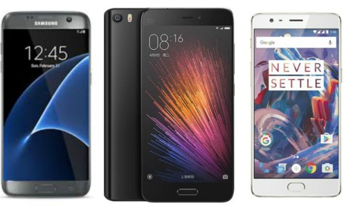OnePlus 3 Vs Samsung Galaxy S7 Vs Xiaomi Mi5 battery comparison. Who wins?