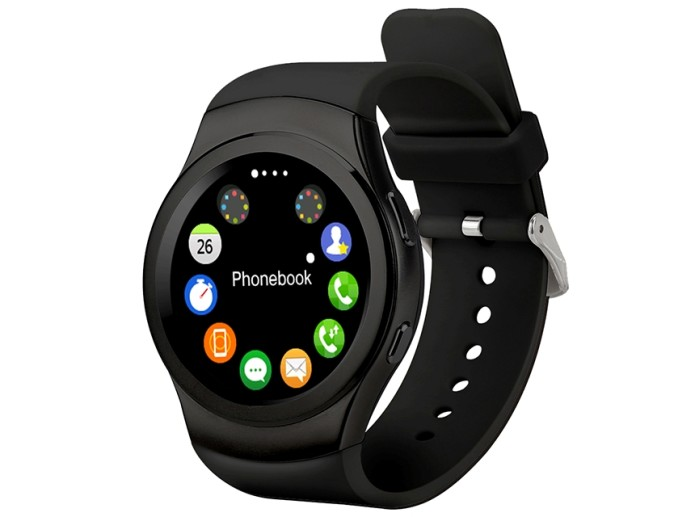 Q2: Waterproof Smartwatch with Siri Function