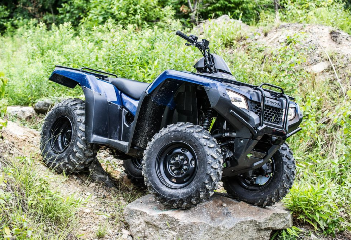 2016 Honda FourTrax Rancher 4x4 Automatic DCT ATV Review