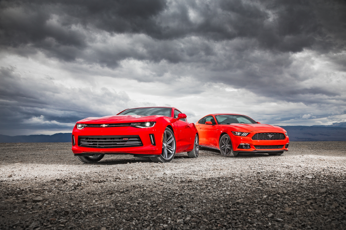 COMPARISON: 2016 CHEVROLET CAMARO RS VS. 2016 FORD MUSTANG ECOBOOST