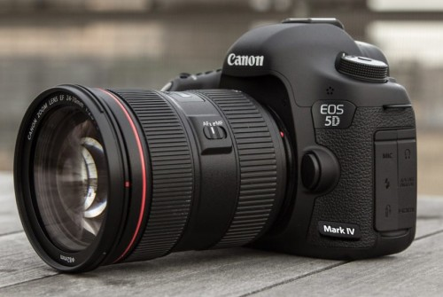 Canon EOS 5D Mark IV Registered Online