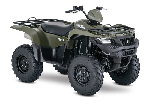 2017 Suzuki King Quad 750AXi 4×4 EPS Review