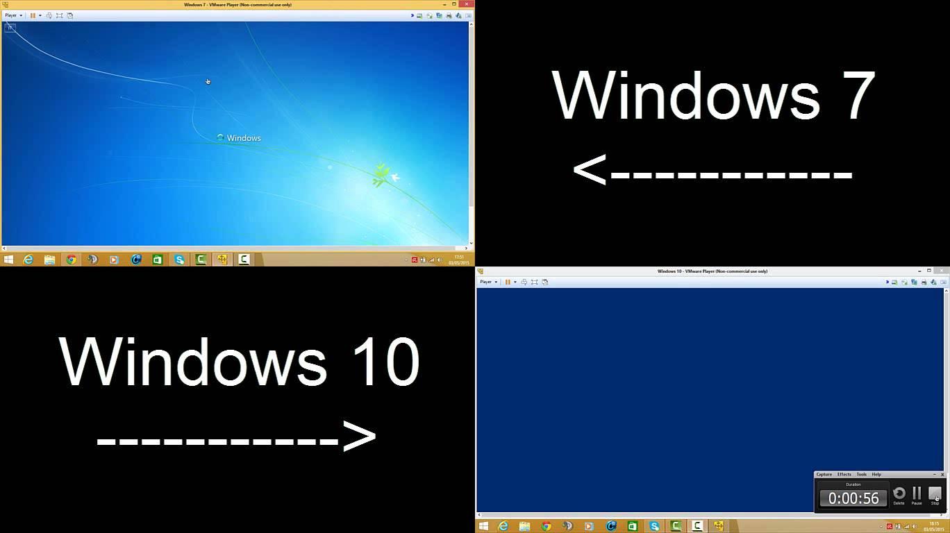 geht ein update von windows 7 auf 10