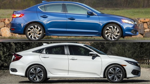 Honda Civic vs. Acura ILX: Buy This, Not That