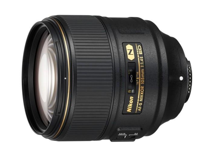 Nikon AF-S 105mm F1.4E ED prime lens announced