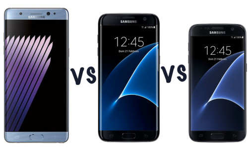 Samsung Galaxy Note 7 vs Galaxy S7 edge vs Galaxy S7: What's the rumoured difference?