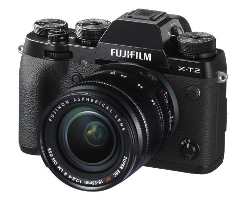 Fujifilm's X-T2 retains retro styling, but shoots faster, and now in 4K