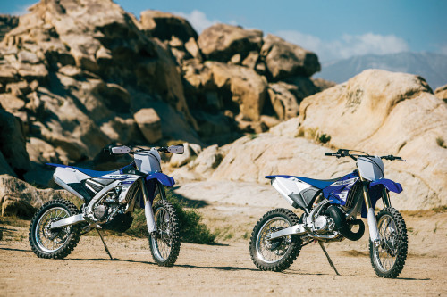 Yamaha YZ250X vs. YZ450FX – COMPARISON TEST