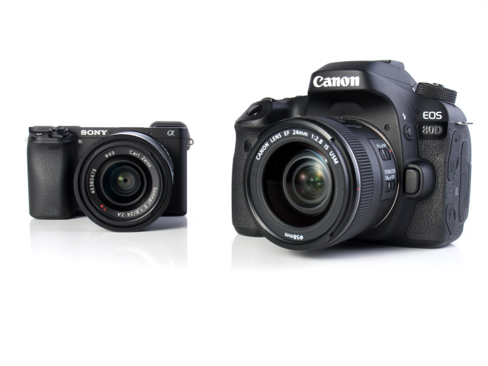 Canon EOS 80D vs Sony a6300 Comparison : vying for the stills/video hybrid crown