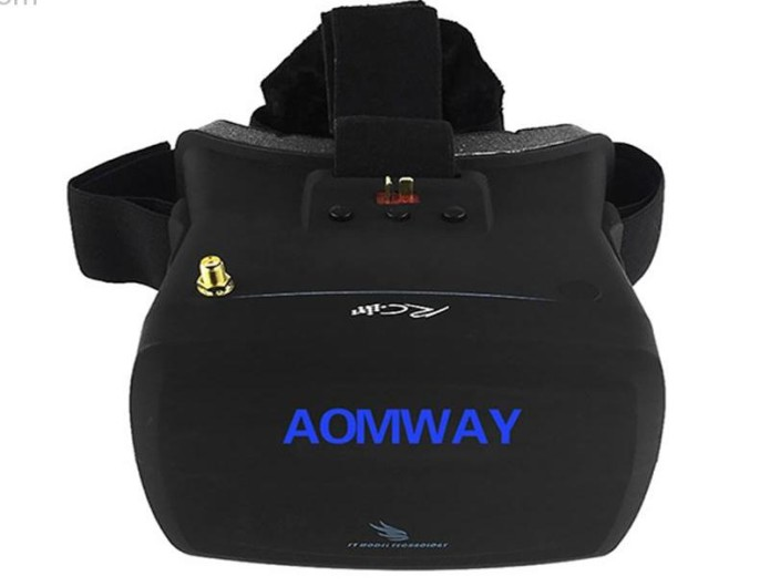 Aomway Goggles V1 Review : A new and affordable drone VR Glasses