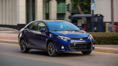 "2016 Toyota Corolla S Review: The ""S"" is for sorta-sporty"