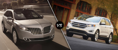 Lincoln MKX vs. Ford Edge Sport: Buy This, Not That
