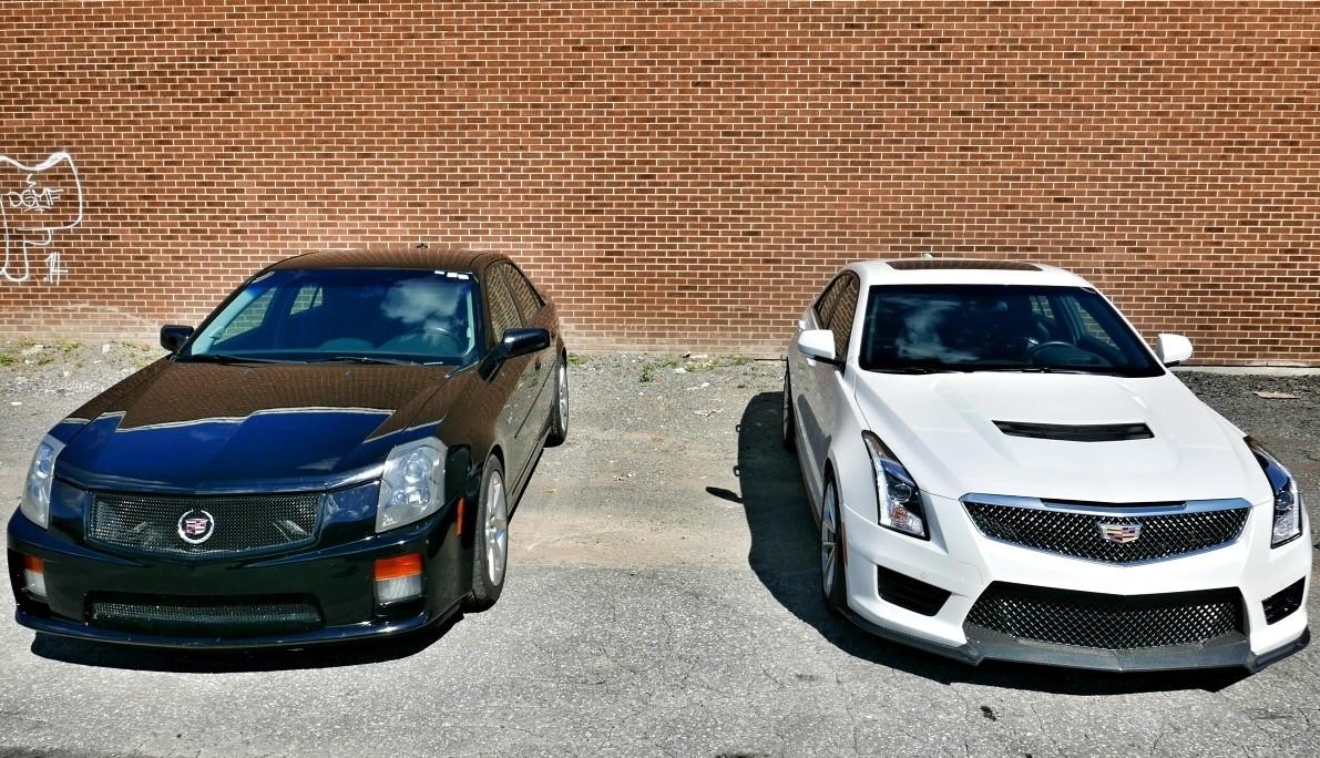 2016 Cadillac Ats V Vs 2004 Cts Showdown Generation Gap