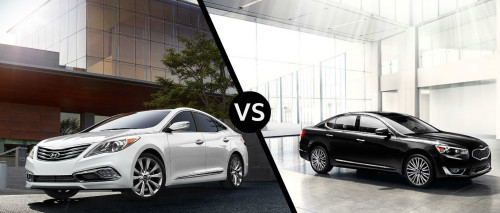 Kia Cadenza vs. Hyundai Azera: Buy This, Not That