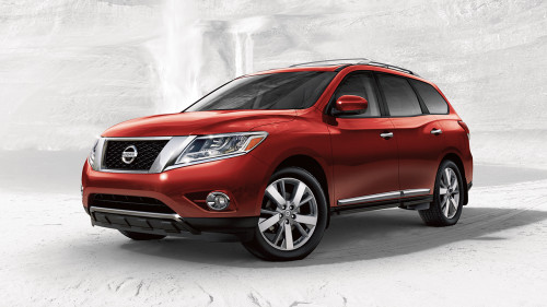 2017 Nissan Pathfinder first-drive