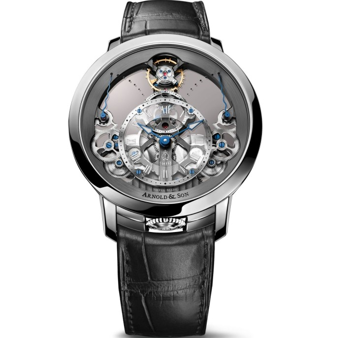 Arnold & Son Time Pyramid, New Stainless Steel Version 3